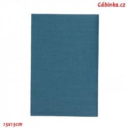 Záplata nažehlovací KEPR 25 - Modrá jeans, 15x15 cm