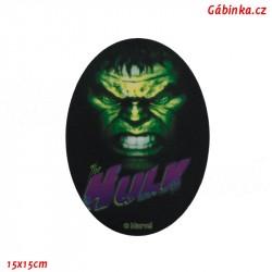 Záplata nažehlovací Avengers 6 - Hulk, 15x15 cm