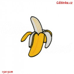 Nažehlovačka - Banán, 15x15 cm