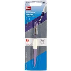 Páradlo švů malé ergonomické PRYM 610 931, fialovo bílé