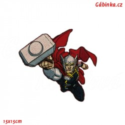 Iron-On Patch Avengers - Thor, 15x15 cm