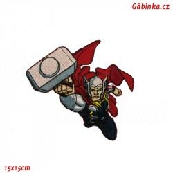 Nažehlovačka Avengers - Thor, 15x15 cm