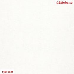 Len s viskózou ITALY 26 - Bílý, 15x15 cm