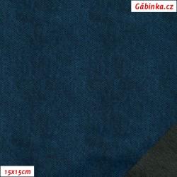 Letní pružný softshell 10000/3000 - Jeans, šíře 145 cm, 10 cm, Atest 2