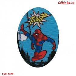 Nažehlovací záplata Spider-Man 7