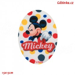 Iron-On Knee Patch Mickey-Mouse 1