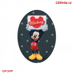 Iron-On Knee Patch Mickey-Mouse 3
