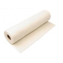 Plsť dekorační, filc - Krémová, šíře 41 cm, 10 cm