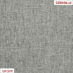 Kočárkovina OSAKA 16 - Bílošedý melír, 15x15 cm