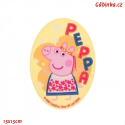 Iron-On Knee Patch Peppa Pig 6 - Princess, 15x15 cm