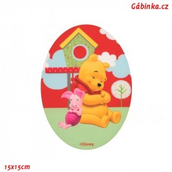 Iron-On Knee Patch Winnie the Pooh 2 - Winnie the Pooh with Piglet, Certificate 1