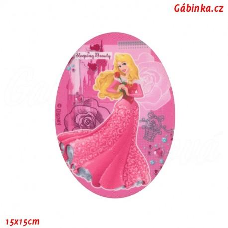 Iron-On Knee Patch Disney Princess 2 - Sleeping Beauty, 15x15 cm