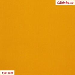 Silky, umělé hedvábí s elastanem 51 - Zlatobýl, 15x15 cm