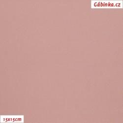 Silky, umělé hedvábí s elastanem - Starorůžové, 15x15 cm