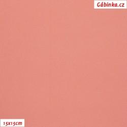 Silky, umělé hedvábí s elastanem 55 - Růžové, 15x15 cm