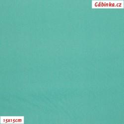 Silky, umělé hedvábí s elastanem 54 - Mint, 15x15 cm
