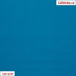 Silky, umělé hedvábí s elastanem - Modré, šíře 140 cm, 10 cm