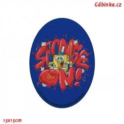 Iron-On Knee Patch Spongebob 5