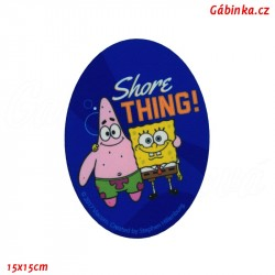 Nažehlovací záplata Spongebob 3