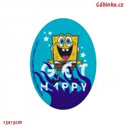 Iron-On Knee Patch Spongebob 2