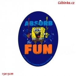 Nažehlovací záplata Spongebob 1