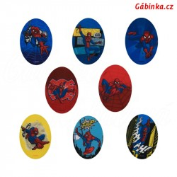 Iron-On Knee Patches Spider-Man