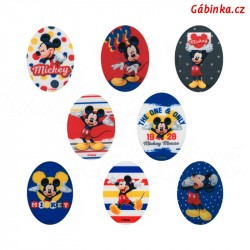 Iron-On Knee Patches Mickey-Mouse - Set 8 pcs