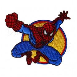 Nažehlovačka Spiderman - S pěstí na žlutém kolečku