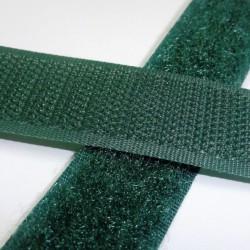 Suchý zip - tmavě zelený, šíře 2 cm, 10 cm