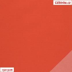 Nylon KENT fabric 582 - Dark Orange, 15x15 cm
