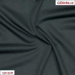 Funkční úplet CoolPass Mesh 138 - Tmavě šedý, 15x15 cm