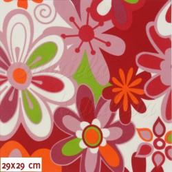 šusťák kočárkový, Pestré květy, detail