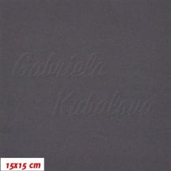 Funkční materiál SILVER - Tmavě šedý, šíře 140 cm, 10 cm