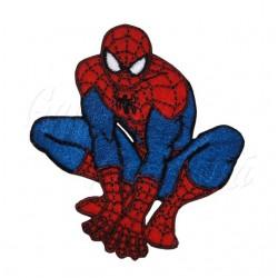 Nažehlovačka Marvel Spiderman - Ve dřepu s pavoukem na hrudi