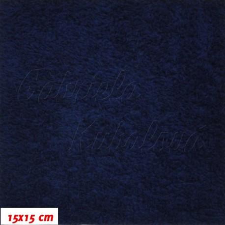Plyš - Námořní modrá