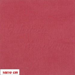 Manšestr, prací kord - Starorůžový, tenký, šíře 148 cm, 1,3 m