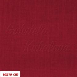 Manšestr, prací kord - elastický, červený, šíře 148 cm, 10 cm