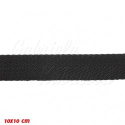 Keprovka POP - šíře 20 mm, černá, 1 m