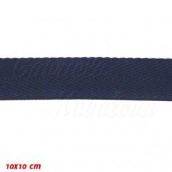Keprovka POP - šíře 25 mm, tmavě modrá, 1 m