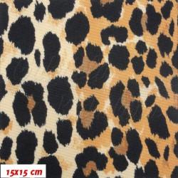 Kočárkovina LESK, Zlatý leopard, šíře 160 cm, 10 cm, 2. jakost