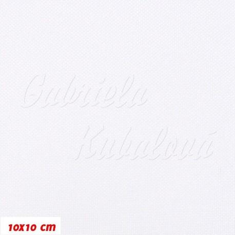 Kočárkovina MAT 3600 bílá, 15x15cm