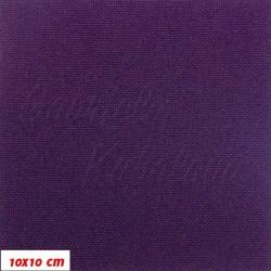 Kočárkovina MAT 476 - Červeněfialová, šíře 160 cm, 10 cm, Atest 1