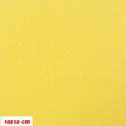 Šusťák kočárkový, žlutý, matný