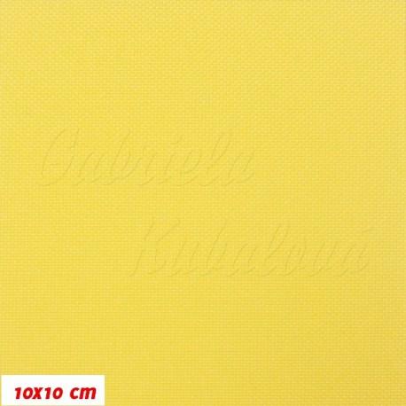 Kočárkovina MAT 885, žlutá, 10x10 cm