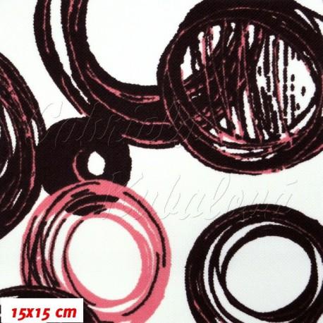 HF Šusťák, Malovaná kola růžovofialová, 15x15cm