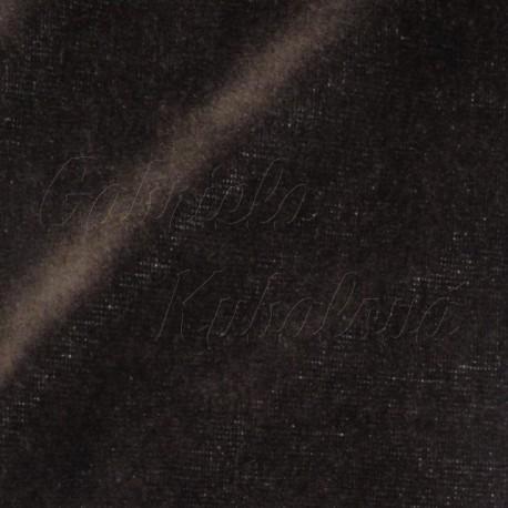 Kojenecký plyš, tmavě hnědý