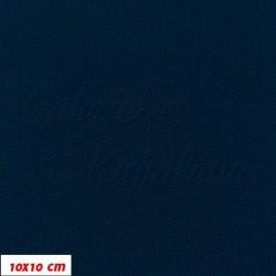 Kočárkovina MAT 19, tmavě modrá,, 15x15cm