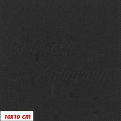 Kočárkovina MAT 22 - Černá, šíře 160 cm, 10 cm, Atest 1