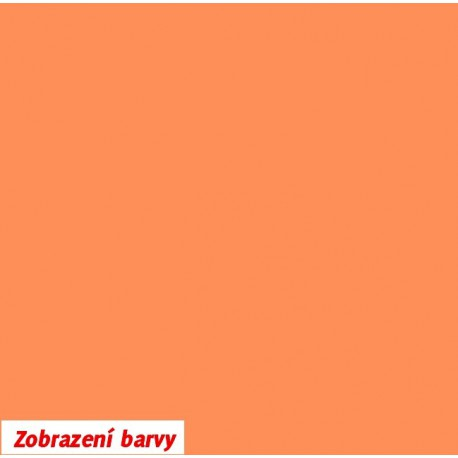 Kojenecký plyš - pastelově oranžový