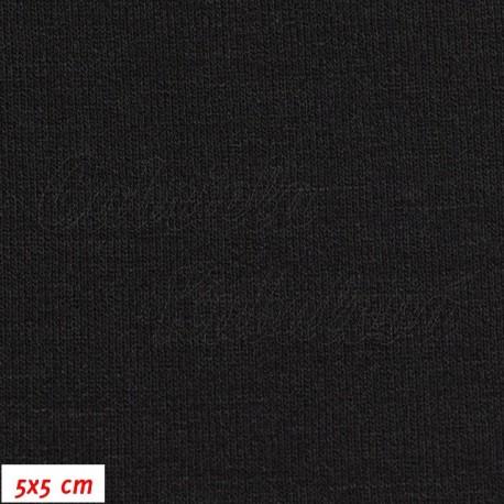 Viskóza, černá, 5x5cm